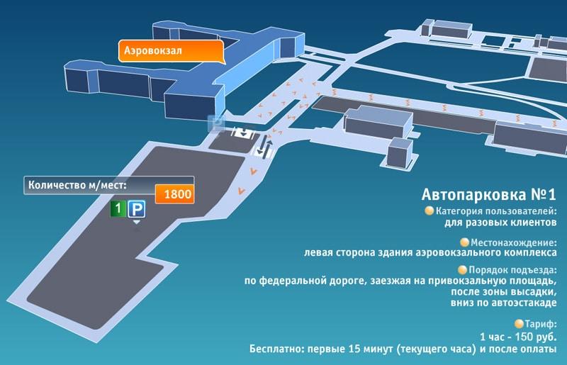 Автостоянка в Домодедово